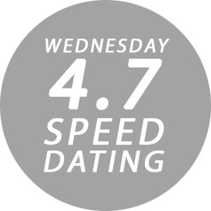 CLUB47_WEDNESDAY 4.7 SPEED DATING